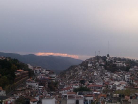 Cold front, axco de Alarcon, Mexico
