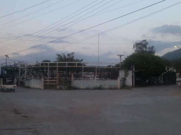 Bull ring, El Ocotito, Mexico