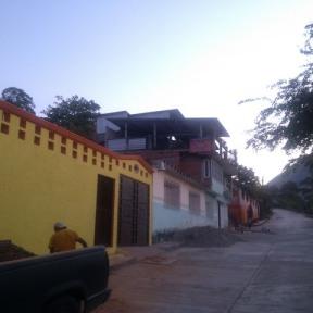 Street scene, El Ocotito, Mexico