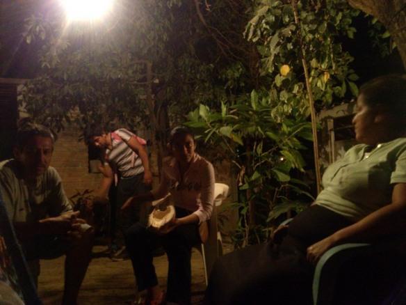 Night life, El Ocotito, Mexico