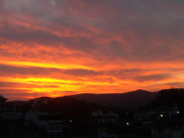 Sunrise, Taxco de Alarcon, Mexico
