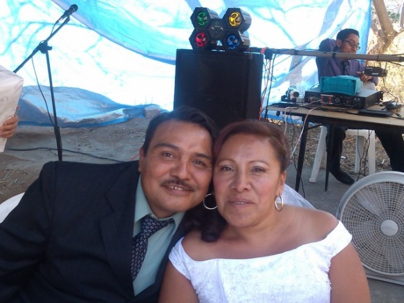Bride and groom, Mexican wedding