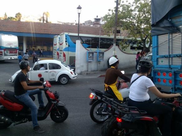 Motorbikes, Taxco de Alarcon, Mexico