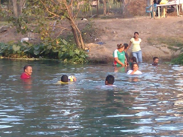 The springs at Buena Vista, Mexico