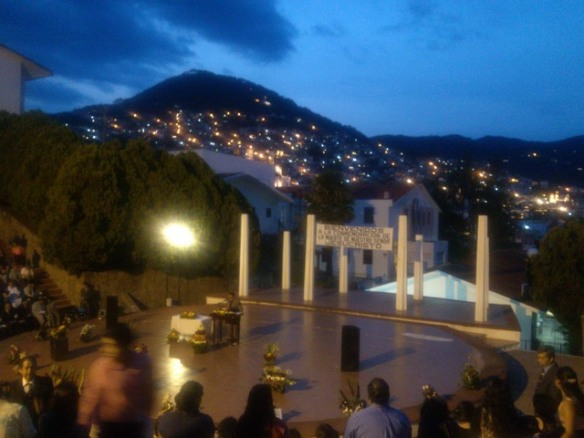 Conmemmoracion, Taxco de Alarcon, Mexico