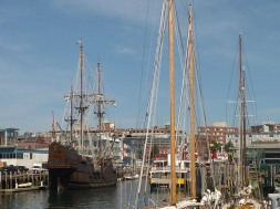 Spanish galleon, Tall Ships festival, Portland, Maine