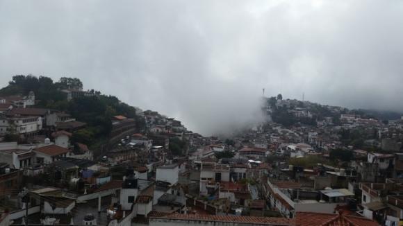 Clouds engulfing, Taxco de Alarcon, Mexico